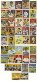 Autographs:Sports Cards, Baseball Hall of Famers Signed Reprint Cards Lot of 40. Stunningcollection of forty Hall of Fame signed reprint cards of e...