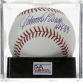 "Autographs:Baseballs, Johnny Bench ""HOF 89"" Single Signed Baseball, PSA Gem Mint 10.Amazing Gem Mint example of the Johnny Bench single, complet..."