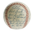 Autographs:Baseballs, 1957 Philadelphia Phillies Team Signed Baseball. Exceptionalexample of the team signed orb, this time an ONL (Giles) ball ...