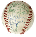 Autographs:Baseballs, 1967 St. Louis Cardinals Team Signed Baseball. The World SeriesChampion 1967 St. Louis Cardinals featured one of the fines...