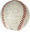 Autographs:Baseballs, 1982 St. Louis Cardinals Team Signed Baseball. In 1982, WhiteyHerzog led the St. Louis Cardinals to a World Series match u...