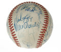 Autographs:Baseballs, 1996 New York Yankees Team Signed Baseball. The 1996 World SeriesChampion New York Yankees made manager Joe Torre look lik...