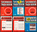"Movie Posters:Miscellaneous, Showmen's Trade Review (STR Inc., 1951-1957). Magazines (26)(Multiple Pages, 9.5"" X 12""). Miscellaneous.. ... (Total: 26 Items)"