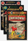 Golden Age (1938-1955):Horror, Adventures Into The Unknown Group (ACG, 1954) Condition: AverageVG.... (Total: 4 Comic Books)