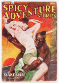Pulps:Adventure, Spicy Adventure Stories - September '37 (Culture, 1937) Condition: GD....