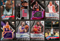 Basketball Cards:Lots, 1990's-2000's Upper Deck, SD Game Used & UD Black Inserts &Autographs Group (16). ...