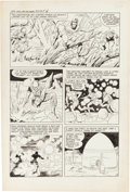Original Comic Art:Panel Pages, Jack Kirby and Al Williamson Race for the Moon #3 Story Page4 Original Art (Harvey, 1958)....