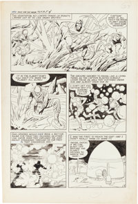Jack Kirby and Al Williamson Race for the Moon #3 Story Page 4 Original Art (Harvey, 1958)