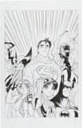 Original Comic Art:Covers, Adam Warren Wizard 2000 Cover Original Art (Wizard,2000)....