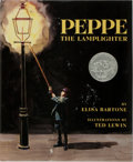 Books:Children's Books, [Children's Illustrated]. Ted Levine [illustrator]. Elisa Bartone.INSCRIBED. Peppe the Lamplighter. Lathrop, Le...
