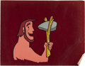 "Animation Art:Production Cel, ""Caveman"" Animation Production Cel Original Art (c. 1950s-early60s).... (Total: 2 Items)"