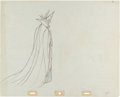 Animation Art:Production Drawing, Sleeping Beauty Maleficent Animation Production DrawingOriginal Art (Walt Disney, 1959)....