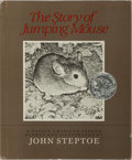 Books:Children's Books, [Children's Illustrated]. John Steptoe. INSCRIBED. The Story ofJumping Mouse. Lothrop, Lee & Shepard, 1984. Lat...