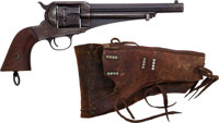 Remington Model 1875 Single Action Revolver with Holster