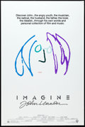 """Movie Posters:Rock and Roll, Imagine: John Lennon (Warner Brothers, 1988). One Sheet (27"""" X40.5"""") Purple Hair Style. Rock and Roll.. ..."""