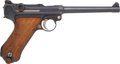 Handguns:Semiautomatic Pistol, DWM Model 1914 Naval Luger Semi-Automatic Pistol with Two Matching Magazines. . ...