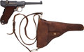 Handguns:Semiautomatic Pistol, Swiss Early Model Commercial 1900 DWM Luger Semi-Automatic Pistolwith Holster....