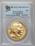 Modern Bullion Coins, 2011 $50 One-Ounce Gold Buffalo MS70 PCGS. .9999 Fine. Ex: BlackDiamond. PCGS Population (1418). NGC Census: (0).. From ...
