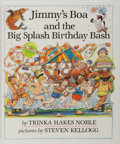 Books:Children's Books, [Children's Illustrated]. Steven Kellogg [illustrator]. TrinkaHakes Noble. INSCRIBED WITH ORIGINAL DRAWING. Jimmy's Boa...