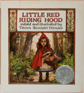 Books:Children's Books, [Children's Illustrated]. Trina Schart Hyman. INSCRIBED. LittleRed Riding Hood. Holiday House, 1983. Later printing...