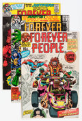 Bronze Age (1970-1979):Superhero, The Forever People Group (DC, 1971-72) Condition: Average VF....(Total: 9 Comic Books)