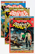 Bronze Age (1970-1979):Horror, Tomb of Dracula Group (Marvel, 1972-75) Condition: Average VF....(Total: 7 Comic Books)