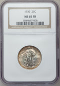 Standing Liberty Quarters: , 1930 25C MS65 Full Head NGC. NGC Census: (441/204). PCGS Population(671/309). Mintage: 5,632,000. Numismedia Wsl. Price fo...