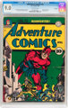 Adventure Comics #73 Rockford pedigree (DC, 1942) CGC VF/NM 9.0 Off-white pages