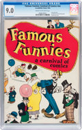 Platinum Age (1897-1937):Miscellaneous, Famous Funnies: A Carnival of Comics #nn (Eastern Color, 1933) CGC VF/NM 9.0 Cream to off-white pages....