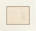 Animation Art:Production Drawing, Goddess of Spring Animation Production Drawing Original Art(Walt Disney, 1934)....