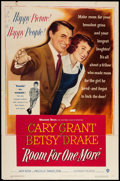 """Movie Posters:Comedy, Room for One More (Warner Brothers, 1952). One Sheet (27"""" X 41""""). Comedy.. ..."""