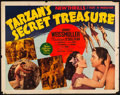 "Movie Posters:Adventure, Tarzan's Secret Treasure (MGM, 1941). Half Sheet (22"" X 28"").Adventure.. ..."