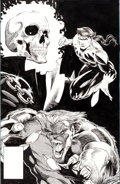 Original Comic Art:Covers, Joe Madureira Unpublished Marvel Comics Presents #94Northstar Cover Original Art (Marvel, c. 1991)....