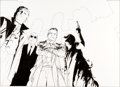 Original Comic Art:Covers, John Cassaday Illustration Original Art (undated).. ...