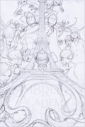 Original Comic Art:Miscellaneous, James Jean Umbrella Academy Apocalypse Suite #1A CoverPencil Preliminary Original Art (Dark Horse, c. 2007)....