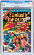 Modern Age (1980-Present):Superhero, Fantastic Four Annual #11 (Marvel, 1976) CGC NM/MT 9.8 Whitepages....