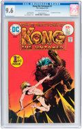 Bronze Age (1970-1979):Miscellaneous, Kong the Untamed #1 (DC, 1975) CGC NM+ 9.6 Off-white to white pages....
