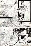 "Original Comic Art:Panel Pages, Neal Adams and Bernie Wrightson Green Lantern #84 ""Peril inPlastic"" Page 6 Original Art (DC, 1971)...."