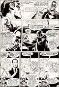 "Original Comic Art:Panel Pages, Neal Adams and Bernie Wrightson Green Lantern #84 ""Peril inPlastic"" Black Hand Page 15 Original Art (DC, 1971)...."