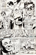 "Original Comic Art:Panel Pages, Neal Adams and Bernie Wrightson Green Lantern #84 ""Peril inPlastic"" Page 9 Original Art (DC, 1971)...."