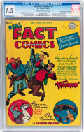 "Golden Age (1938-1955):Non-Fiction, Real Fact Comics #10 Davis Crippen (""D"" Copy) pedigree (DC, 1947)CGC VF- 7.5 Off-white to white pages...."