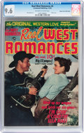 Golden Age (1938-1955):Western, Real West Romances #6 Mile High pedigree (Prize, 1950) CGC NM+ 9.6Off-white to white pages....