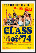 """Movie Posters:Sexploitation, The Class of '74 & Others Lot (General Film, 1972). One Sheets(4) (25.5"""" X 38.5"""" & 27"""" X 41""""). Sexploitation.. ... (Total: 4Items)"""