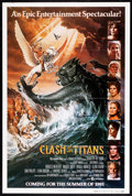 "Movie Posters:Fantasy, Clash of the Titans (MGM, 1981). Autographed One Sheet (27"" X 41"") Advance. Fantasy.. ..."