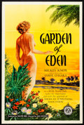 """Movie Posters:Adult, Garden of Eden (Excelsior, 1954). One Sheet (27"""" X 41""""). Adult.. ..."""