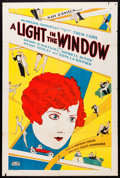 """Movie Posters:Drama, A Light in the Window (Rayart Pictures, 1927). One Sheet (27"""" X41""""). Drama.. ..."""