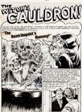 "Original Comic Art:Complete Story, Graham Ingels Tales From the Crypt Complete 7-Page Story""The Ventriloquist's Dummy"" Original Art (EC, 1952).... (Total: 7Original Art)"