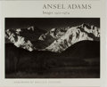 Books:Photography, [Photography]. Ansel Adams. SIGNED. Images 1923-1974. NewYork Graphic Society, 1974. First edition, first printing....