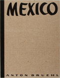 Books:Photography, [Photography]. Anton Bruehl. Mexico. Delphic Studios, 1933. First edition, limited to 1000 copies, this copy unnumbe...