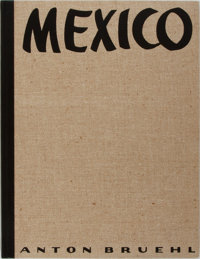 [Photography]. Anton Bruehl. Mexico. Delphic Studios, 1933. First edition, limited to 1000 copi
